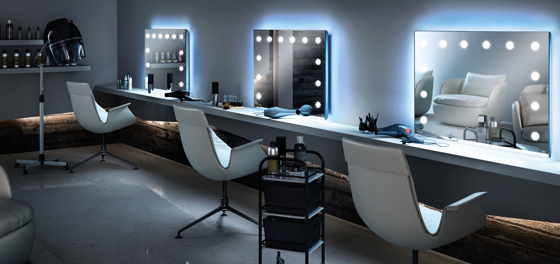 Makeup stations supplier for salons