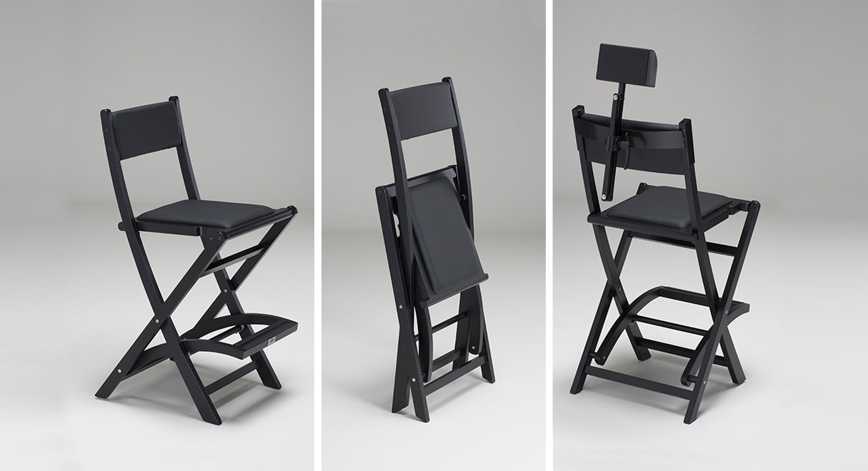 Makeup artist chair & The original makeup artist chair by Cantoni