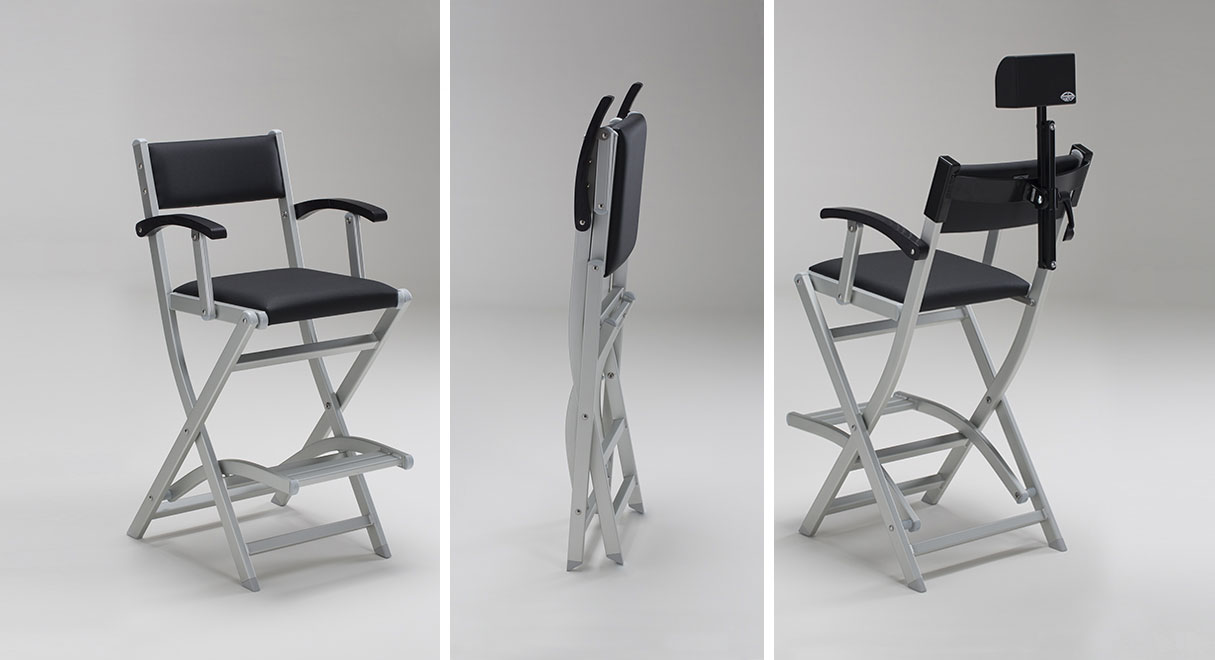 Pliable makeup chair