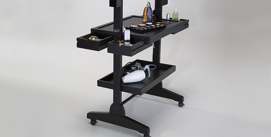 Rolling makeup table Cantoni