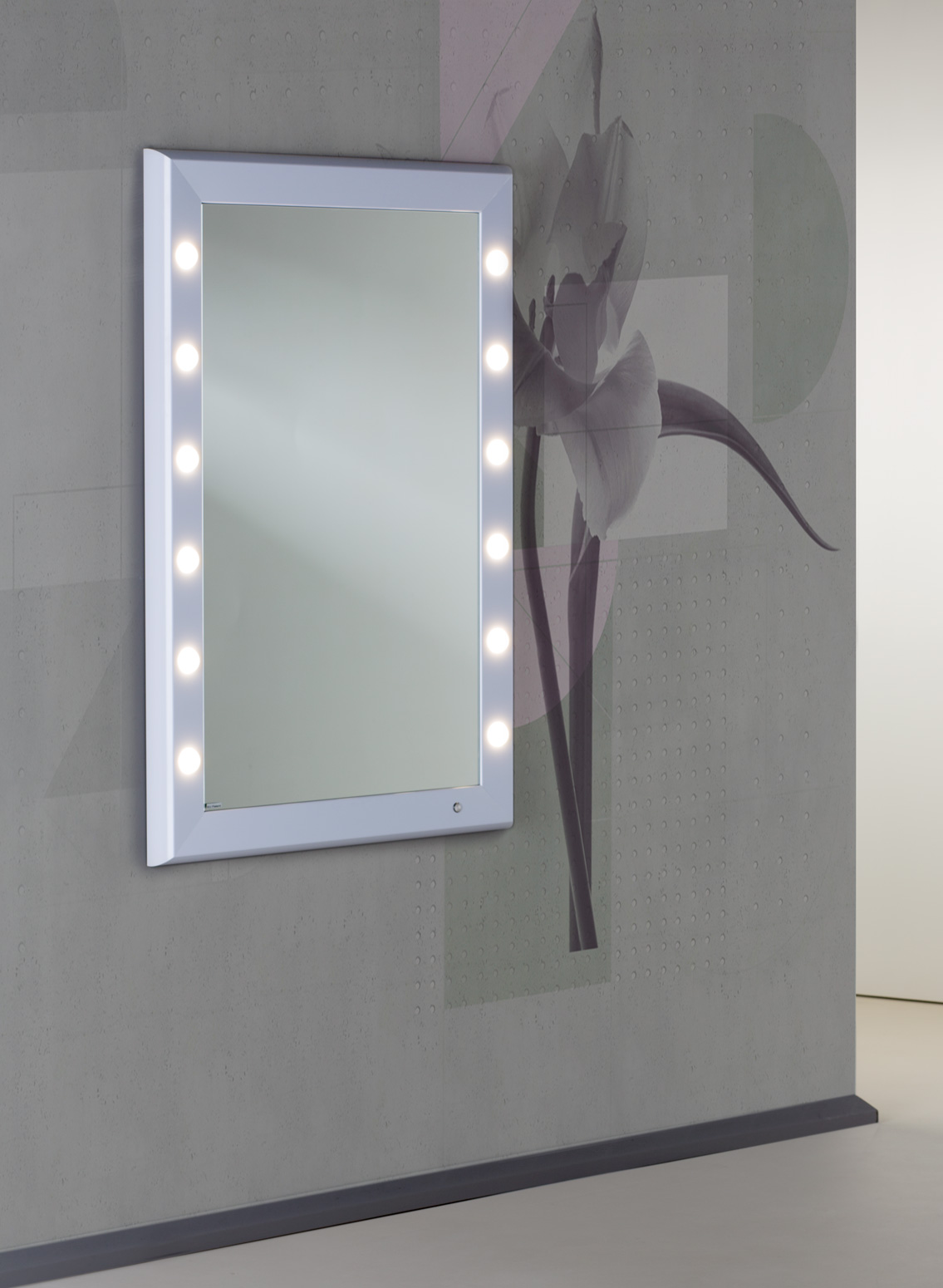 mirror with 12 lights SP301
