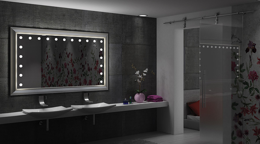 Decorative Bathroom Mirror With Lights : What is the best light for bathroom mirror