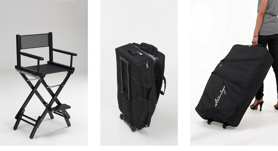 The best makeup artist chair must be easy foldable, light, portable