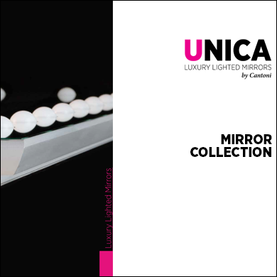 Unica lighted mirror collections 2017 catalogue