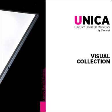 Unica LED backlit panels range 2017