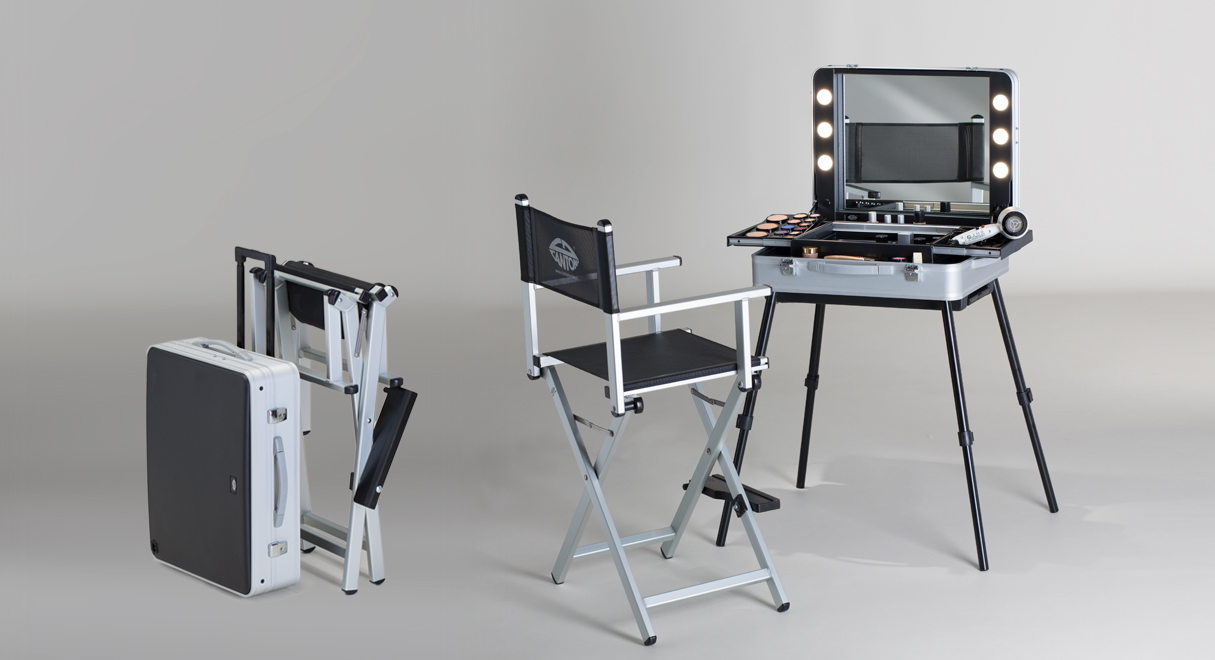 EVO17 Portable multitasking makeup and hairstyling station Cantoni