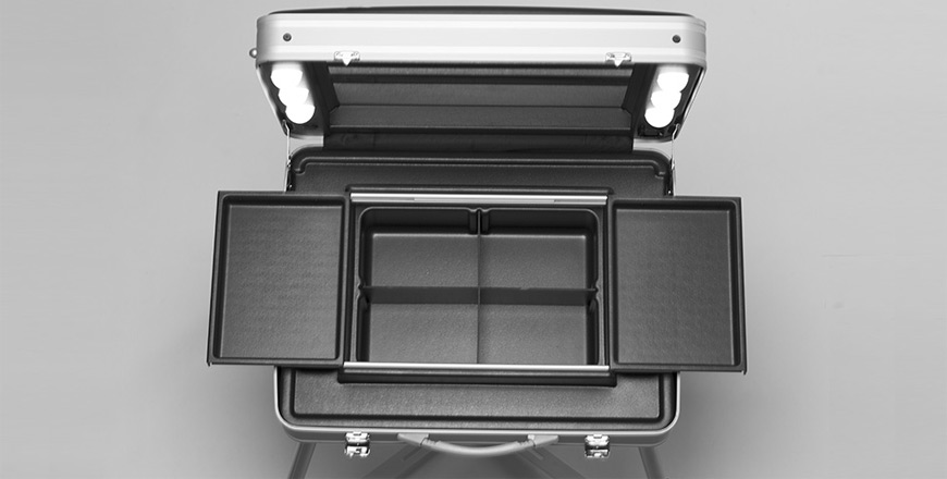 Make-up case with lights Evo17 Canton