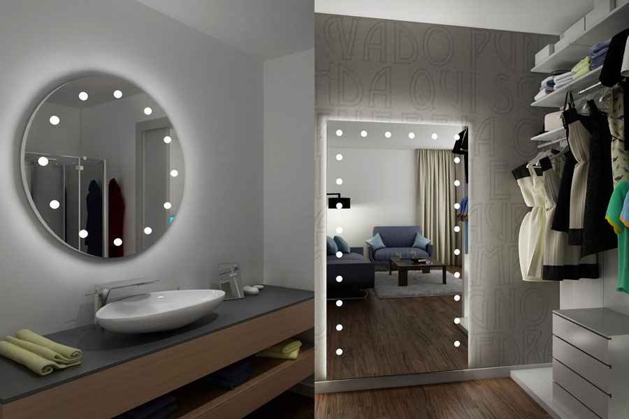 what is a backlit bathroom mirror? The best lighted mirrors for bathroom and walk-in-closet